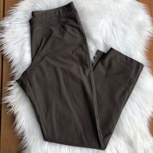 [Eileen Fisher] Taupe Straight leg pant - Size S